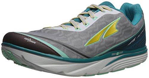 Altra Women's Torin IQ Running Shoe, Teal/Gray, 9.5 B US