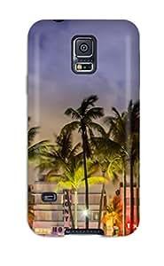 AIYAYA Perfect Tpu Case For Galaxy S5/ Anti-scratch Protector Case (miami Florida Usa)