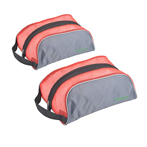 GYSSIEN Travel Shoe Bags for Couples, Breathable Mesh Shoes Storage Pouch