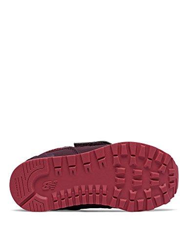 New Balance-KV574 F2I Shoes für Jungen Farbe: Bordeaux - Size 21
