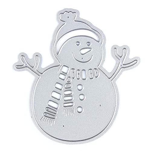 Snowman Christmas Metal Cutting Dies 2.8