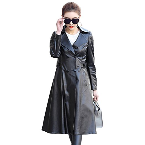 Lambskin Leather Trench - 8