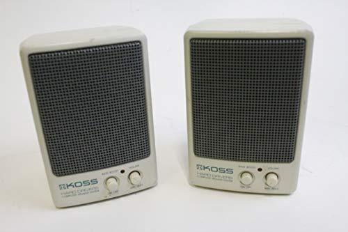 (KOSS Hard Drivers Computer Speaker System)