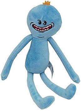 NOBRAND Juguete de Felpa Rick y Morty Juguete de Felpa Sánchez Smith Mr Meeseeks Jerry Verano Poopybutthole Feliz Triste Científico Relleno muñecas