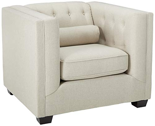 (Coaster Home Furnishings Cairns Upholstered Chair Oatmeal)
