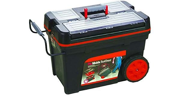B.TECH TOOLS 0501444 - Caja de herramientas con ruedas (62 cm ...