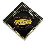 Tommy Bahama Cigar Club Classic Glass Ashtray