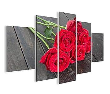 Dekoration Möbel Wohnen Fire Flower Mf Bild Auf Leinwand Bilder