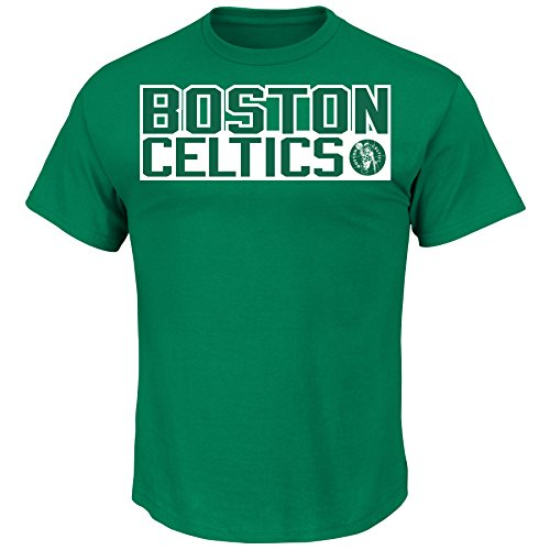 Boston Celtics Jersey Numbers - Profile Big & Tall NBA Boston Celtics Bird NBA Youth Classic Player Name & Number Tee, X-Large, Kelly Green