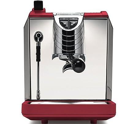 LaGondola Bundle - Máquina Caffe Espresso Nuova simonelli Oscar II macinacaffe Grinta con temporizador y juego 6 simpatiche tazas vasos de cristal Made in ...
