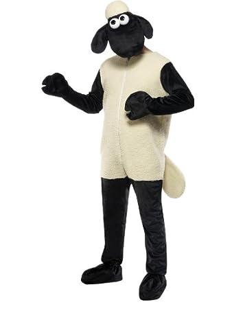 Adult Shaun the Sheep Fancy Dress Shaun the Sheep Costume One Size  sc 1 st  Amazon UK & Adult Shaun the Sheep Fancy Dress Shaun the Sheep Costume One Size ...