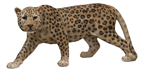 Ebros Large Realistic Lifelike South American Giant Cat Prowling Jaguar Statue 33