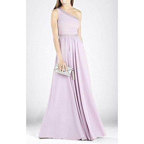 BCBGMAXAZRIA BCBG Maxazria Danielle One Shoulder Embellished Gown