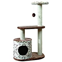 Trixie 44590 Pet Products Casta Cat Tree, Brown/Beige