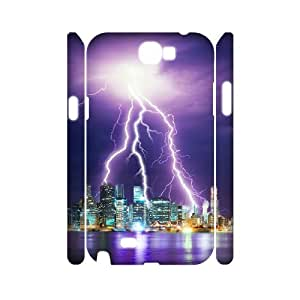 CHSY CASE DIY Design Lightning Pattern Phone Case For Samsung Galaxy Note 2 N7100