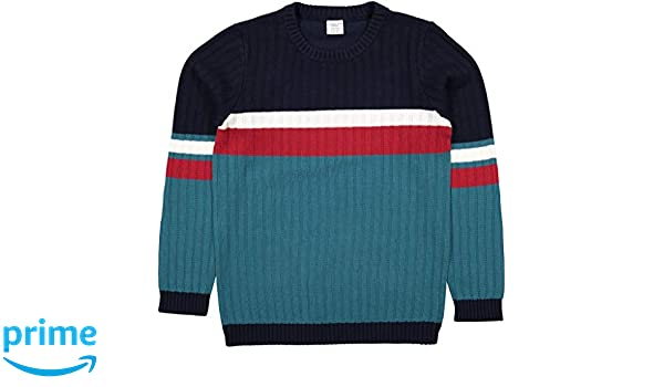 Baby Polarn O Pyret Urban Block Stripe Sweater
