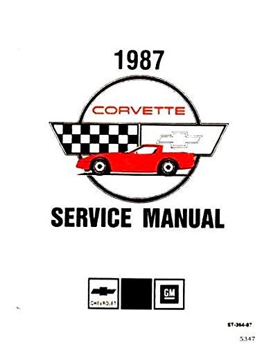 corvette factory service manual - 1