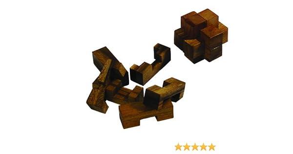 Philos 6021 - Juego de lógica de Madera Nudo del Diablo [Importado de Alemania]: Amazon.es: Juguetes y juegos