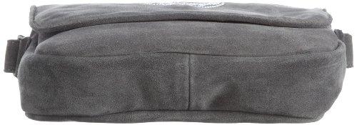 Diavolezza ICE B10, Damen Schultertaschen, Braun (Brown), 23X18X5 cm (B x H x T) Grau (Grey)