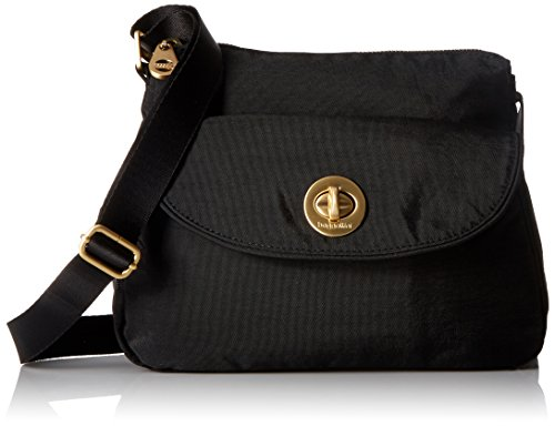Baggallini Gold International Provence BLK Cross Body, Black, One Size