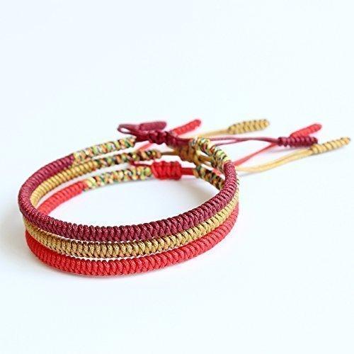 TALE Lucky Rope Bracelet Tibetan Buddhist Handmade Knots - Balance