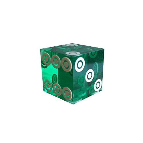 Lipo-Flavonoid Lion Games and Gifts Europe 19 mm Precision Bird-Eye Dice (Green)