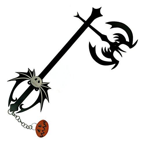 Mtxc Kingdom Heart Cosplay Sora Pumpkinhead Keyblade Black]()