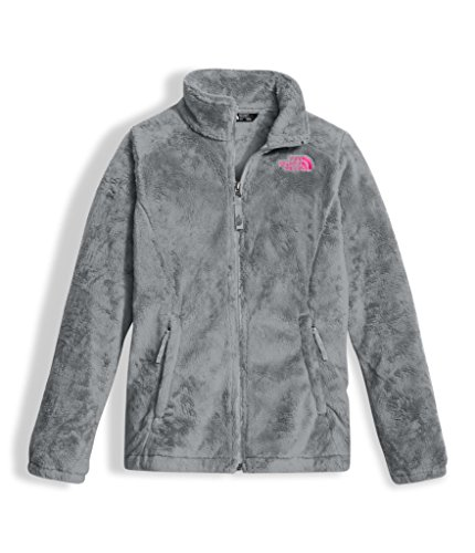 The North Face Girl's Osolita Jacket - Metallic Silver - M (Past (Reversible Girls Jacket)