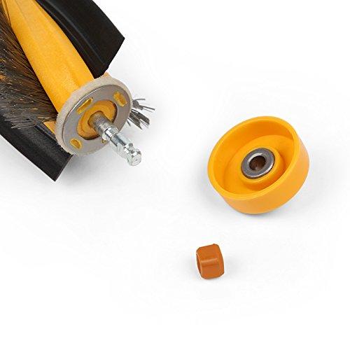 YTT Filtro para Aspirador Filtro HEPA de Repuesto para Ecovacs Deebot dm80/de kta Robotic M81/dm81/por p/ágina Filtro Aspirador