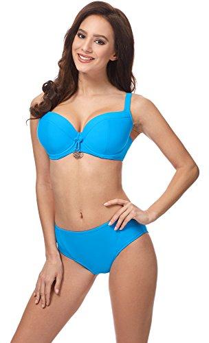 Merry Style Bikini Conjunto para mujer CD 18 Azul