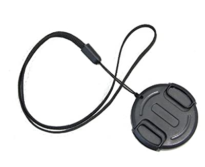 40.5mm Snap in style Lens cap with String Holder Keeper Strap for Digital Cameras and Video Camcorders