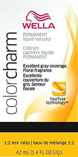 Liquid Permanent Hair Color 725 7g Sunlight Blonde Brown By Wella