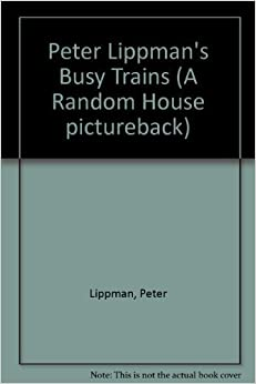 Book BUSY TRAINS (Random House Pictureback)