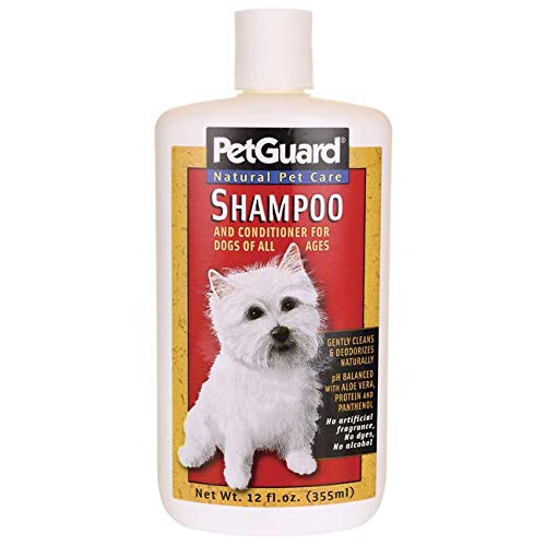 Pet Guard Natural Pet Products, Shampoo and Conditioner, 12 Fl Oz