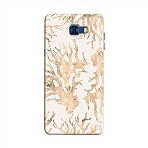Cover It Up - Blue Pastel Nature Print Galaxy C7 Pro Hard Case