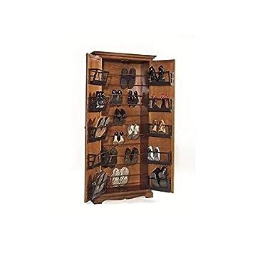 Schuhschrank mit zweiTüren, Stil: Arte Povera: Amazon.de ...