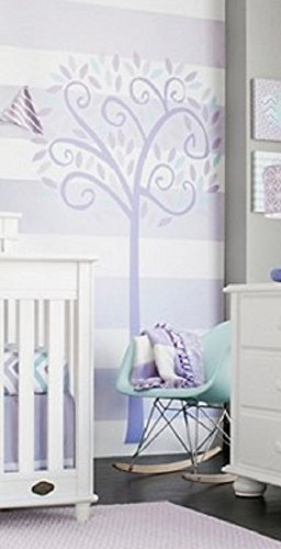 CoCaLo Violet Jumbo Tree Wall Decal Set, ()