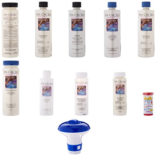 Spa Chemicals Bromine - Spa Choice Standard Bromine Kit