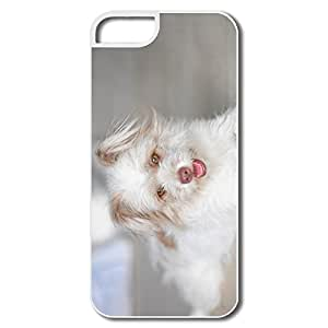 Cool Cute White Dog IPhone 5/5s Case For Friend