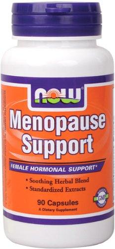 NOW Foods soutien ménopause, 90 gélules