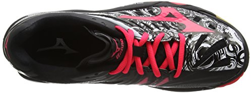 Nero Scarpe White Indoor Pink Mirage Black Sportive Diva MizunoWave Donna wXR6q5v