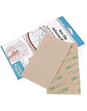YRDQNCraft 60 Pieces Non-Slip Adhesive Grip for Quilting Template Quilting Rulers-30 Large & 30 Small