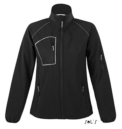 SOL´S Rapid Women Softshell Jacket, Black, XXL
