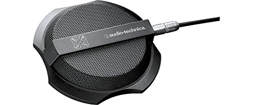 (Audio-Technica AT854R Four-Channel Cardioid Condenser Boundary Microphone)