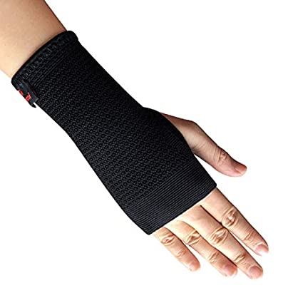 1Pc Elastic Sports Wristband Wrist Brace Support Compression Sleeve Palm Protector Fitness Gloves Carpal Tunnel Estimated Price £15.75 -