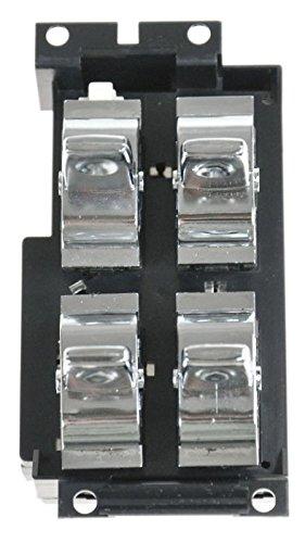 Power Window Switch 4 Button for 91-96 Chevy Impala Roadmaster Cutlass Master Caprice 4 Button Power Window