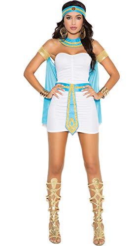 Egyptian Goddess Costume - Egyptian Queen Costume Women Sexy Halloween Egypt Nile Goddess Deluxe Dress]()