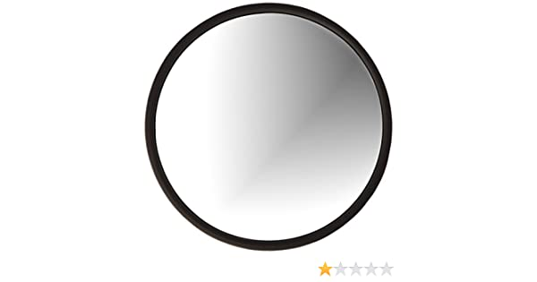 Grote 12172 Convex Mirror 8 Round Black with Offset Ball-Stud