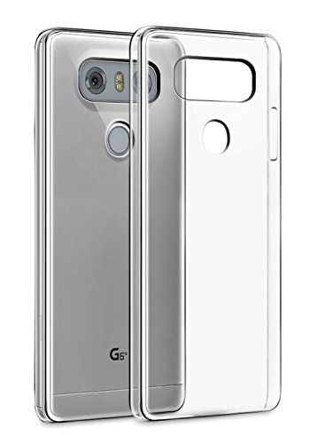 Tektide Case Compatible for LG G6, [Invisible Armor] Xtreme Slim, Clear, Soft, Drop Protection TPU Rubber Bumper Case/Back Cover