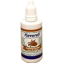 Flavorall Liquid Flavoured Stevia (Alcohol-Free), Scintillating Cinnamon, 50ml